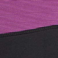 Junior Activewear Pants: Plum Stripe be inspired Striped Waistband Slim Leg Pants