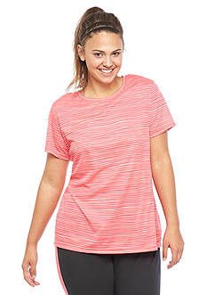 be inspired Plus Size Short Sleeve Printed Tee
