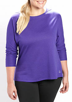be inspired Plus Size Pleat Back Tee