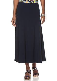 Chaps Jersey Maxiskirt