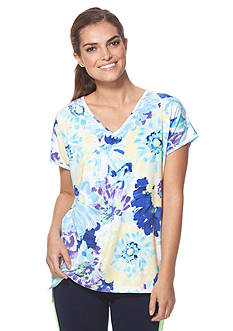 Chaps Floral Jersey Tee