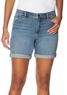 Chaps Stretch-Denim Shorts