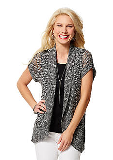 Leo & Nicole Diamond Pattern Cardigan
