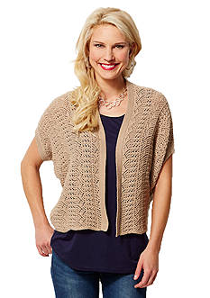 Leo & Nicole Sweater Shrug
