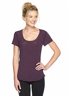 lucy Stripe Workout Tee