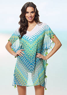 Bleu Rod Beattie Heat Wave Tunic Cover-Up