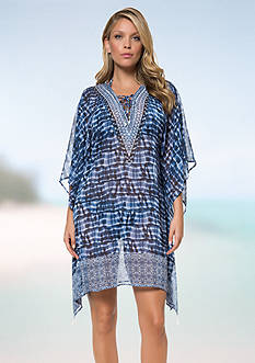 Bleu Rod Beattie I've Got You Babe Caftan Cover-Up