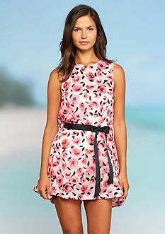 kate spade new york Bay Of Roses Dress Cover Up