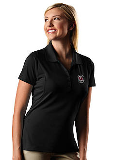 Antigua South Carolina Gamecocks Pique Xtra Lite Polo