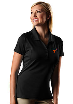 Antigua Texas Longhorns Pique Xtra Lite Polo