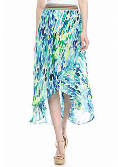 Melissa Paige Dew Drops High Low Skirt