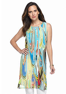 Melissa Paige Exaggerated Column Tunic