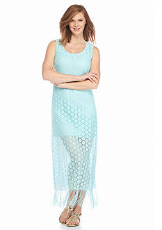 Melissa Paige Maxi Dress with Fringe
