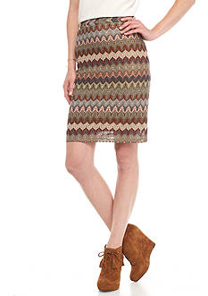Melissa Paige Textured Missoni Skirt