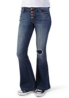 See Thru Soul Nikki Skinny Flare Jeans