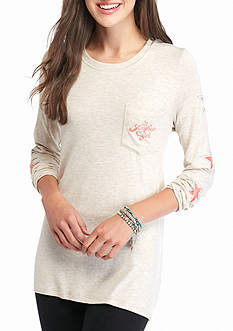 Red Camel All American Girl Pocket Tee