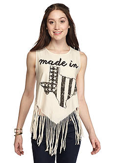 Red Camel American Fringe Tank Texas