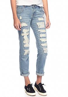 Suede Charlie Boyfriend Jeans