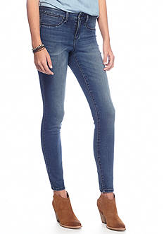 Suede Riley Dark Wash Jegging