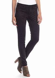 Riley Faux Suede Skinny Jeans