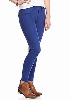 Suede Riley Color Skinny Jeans