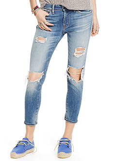Denim & Supply Ralph Lauren Kayla Crop Skinny Jeans