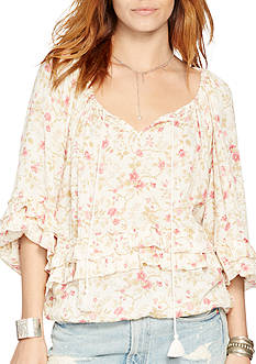 Denim & Supply Ralph Lauren Floral Boho Top