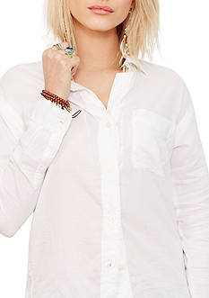 Denim & Supply Ralph Lauren Voile Boyfriend Shirt