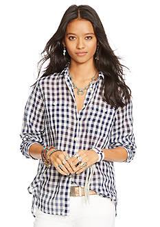 Denim & Supply Ralph Lauren Checked Button Down Shirt