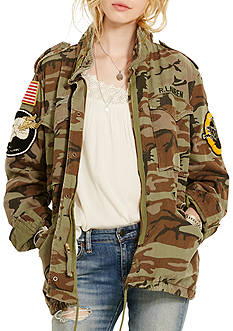Denim & Supply Ralph Lauren Camo Patch Field Jacket