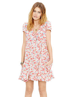 Denim & Supply Ralph Lauren Floral Button Front Dress