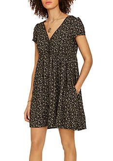 Denim & Supply Ralph Lauren Floral Button-Front Dress