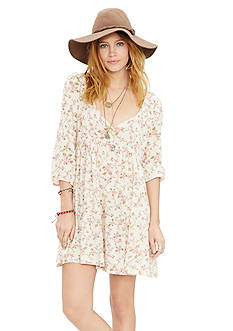 Denim & Supply Ralph Lauren Floral Babydoll Dress