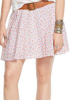Denim & Supply Ralph Lauren Floral A-Line Mini Skirt