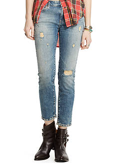 Denim & Supply Ralph Lauren Oceanside Crop Skinny Jean
