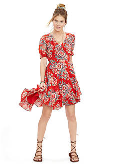 Denim & Supply Ralph Lauren Floral Wrap Dress