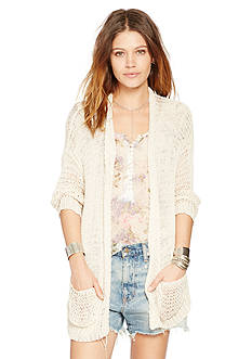 Denim & Supply Ralph Lauren Open Knit Tunic Cardigan