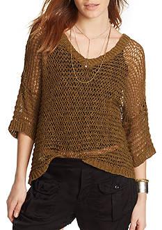 Denim & Supply Ralph Lauren Linen-Cotton Sweater