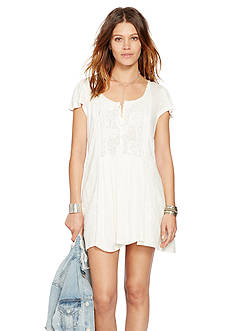 Denim & Supply Ralph Lauren Lace Panel Boho Dress