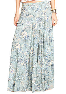 Denim & Supply Ralph Lauren Floral Tiered Maxi Skirt