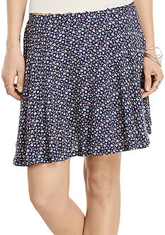 Denim & Supply Ralph Lauren Floral Print Miniskirt