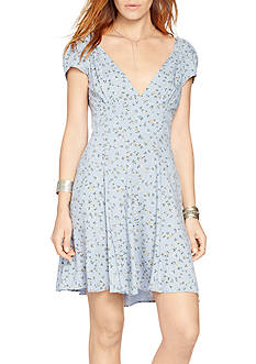 Denim & Supply Ralph Lauren Floral V-Neck Dress