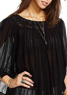 Denim & Supply Ralph Lauren Off-the-Shoulder Gauze Top