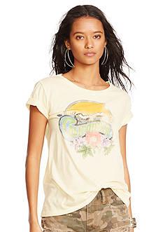 Denim & Supply Ralph Lauren Drapey Graphic T-Shirt