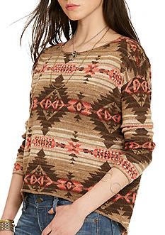 Denim & Supply Ralph Lauren Crew Neck Southwestern Sweater