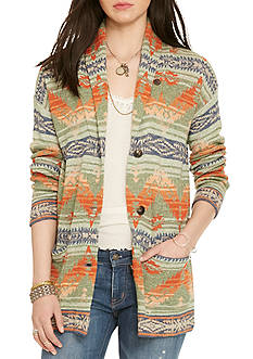 Denim & Supply Ralph Lauren Southwestern Shawl Cardigan