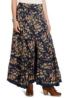 Denim & Supply Ralph Lauren Button Front Maxi Skirt