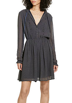 Denim & Supply Ralph Lauren Bianca Pleated-Bib Dress