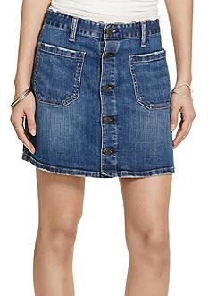 Denim & Supply Ralph Lauren Tilden Button-Front Skirt