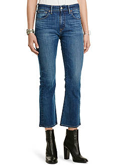 Denim & Supply Ralph Lauren Kenmore Cropped Flared Jeans